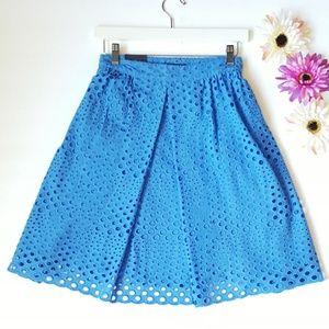 Tommy Hilfiger Summer Blue  Flare Midi Skirt 🌼